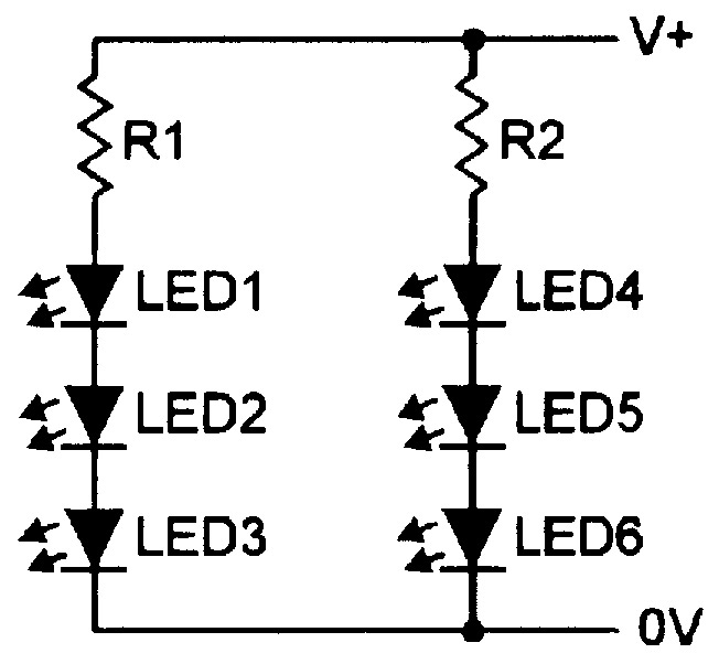 220 Volt Led Indicator Circuit