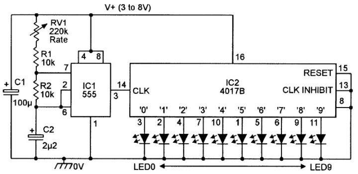 100 Led Running Light Circuit Diagram Pdf | Shelly Lighting