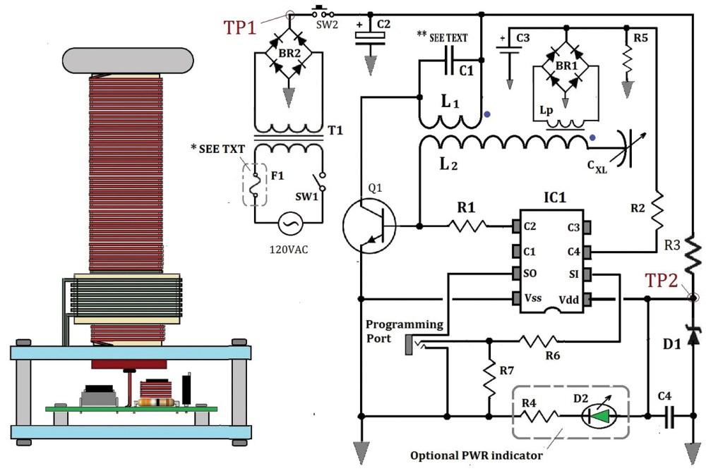 medium resolution of dc tesla coil wiring diagram wiring diagram technic
