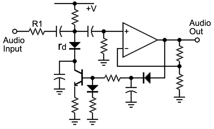 voice changer circuit diagram