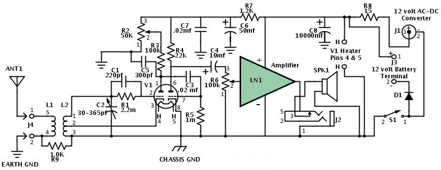 figure 1 dc circuit tester schematic