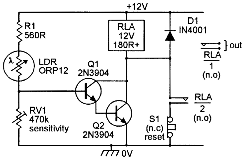 light sensitive switch circuit diagram 7 3 liter diesel engine security electronics systems and circuits — part 4 - nuts & volts magazine for the ...