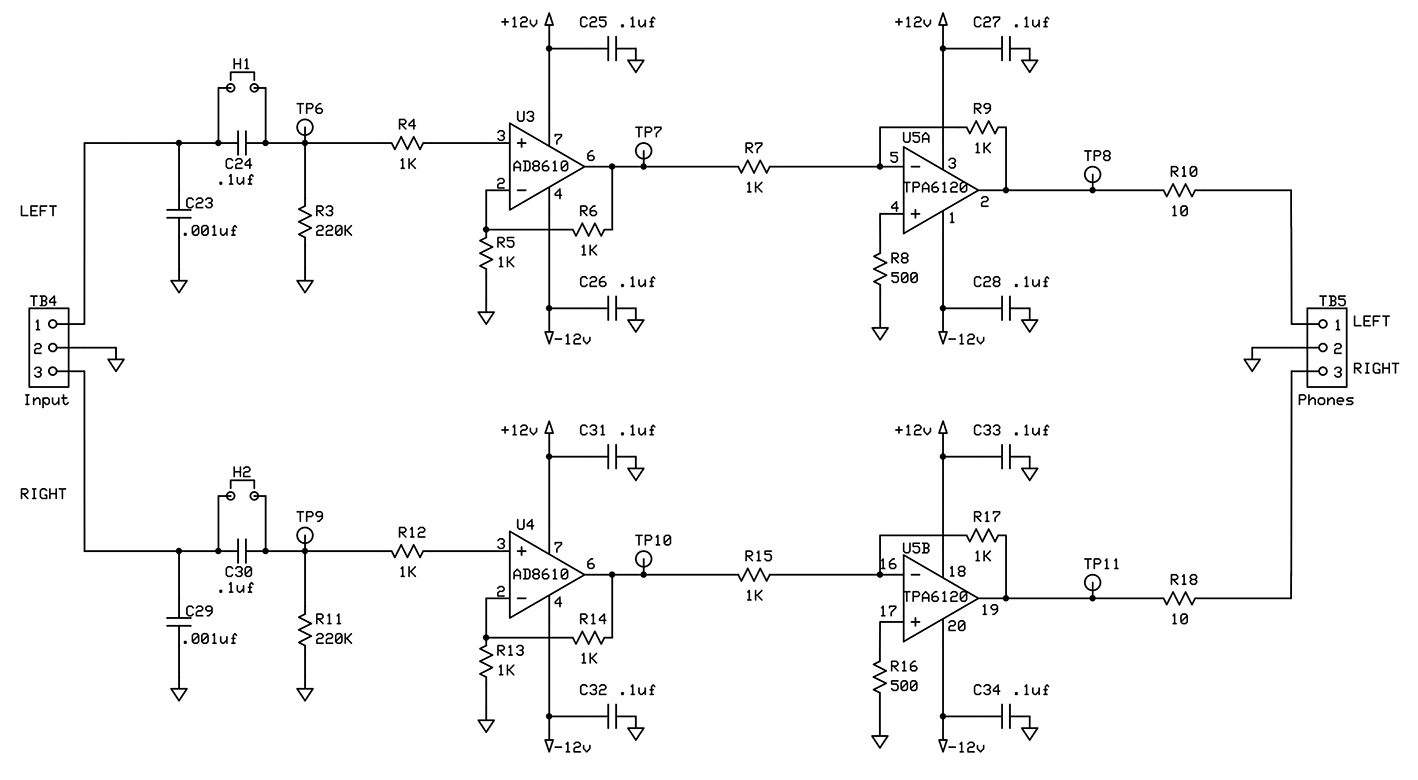 guitar output jack wiring diagram 2000 mazda miata parts precision stereo headphone amplifier nuts and volts magazine