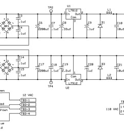 figure 2 precision headphone power supply schematic [ 1337 x 699 Pixel ]