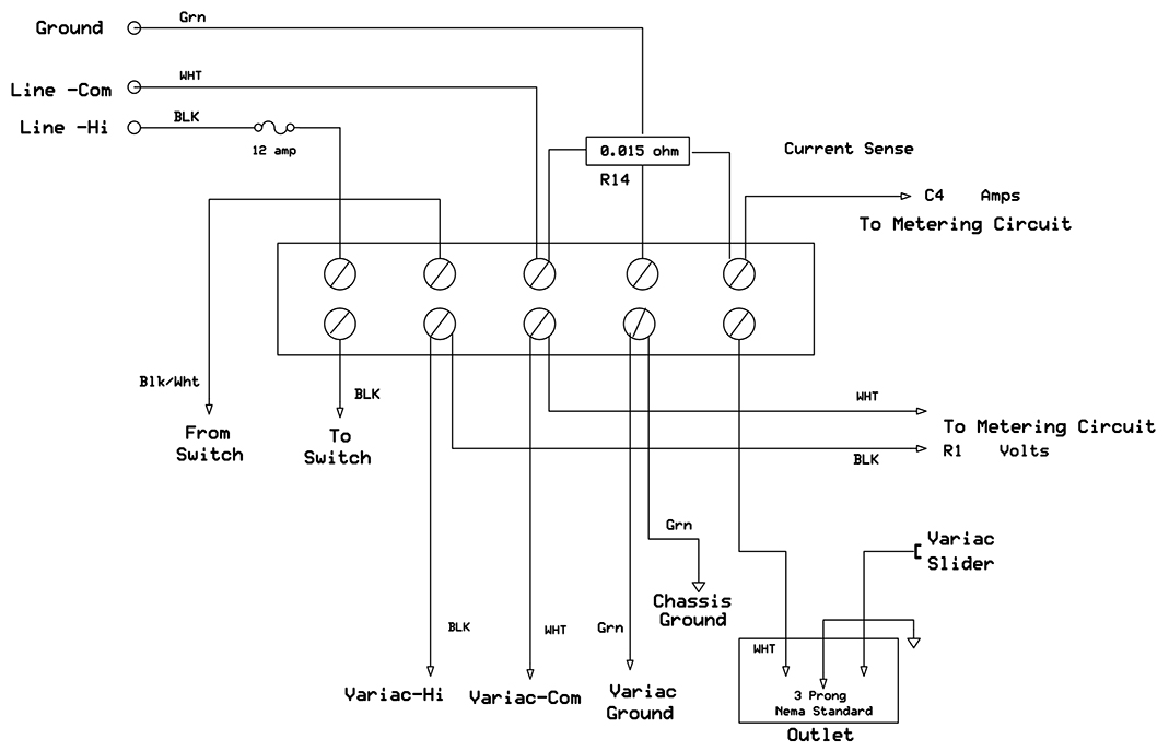 A Deluxe Test Bench Variac