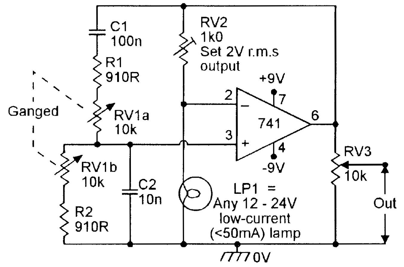 hight resolution of figure 4 150hz 1 5khz lamp stabilized wien bridge oscillator