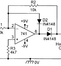 figure 3 precision half wave rectifier  [ 1082 x 807 Pixel ]