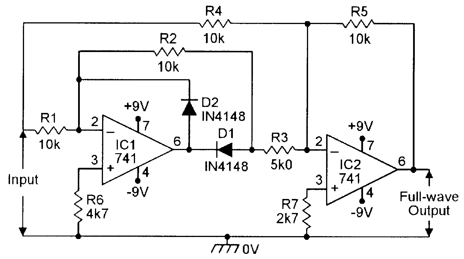3 Input And Gate Ic Chip Diagram