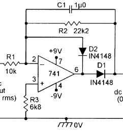 op amp cookbook part 4 nuts volts magazine high voltage follower circuit basiccircuit circuit diagram [ 1155 x 891 Pixel ]