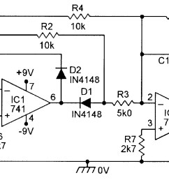 precision full wave ac dc converter  [ 1697 x 921 Pixel ]