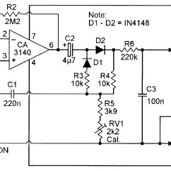 Digital Ac Ammeter Circuit Diagram 1996 Ford Ranger Wiring Op Amp Cookbook  Part 4 Nuts And Volts Magazine