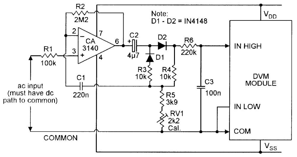 medium resolution of ac meter wiring diagram wiring diagram toolbox ac voltmeter wiring diagram