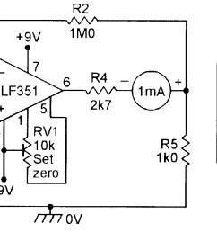op amp cookbook part 4 nuts volts magazine high voltage follower circuit basiccircuit circuit diagram [ 1650 x 822 Pixel ]