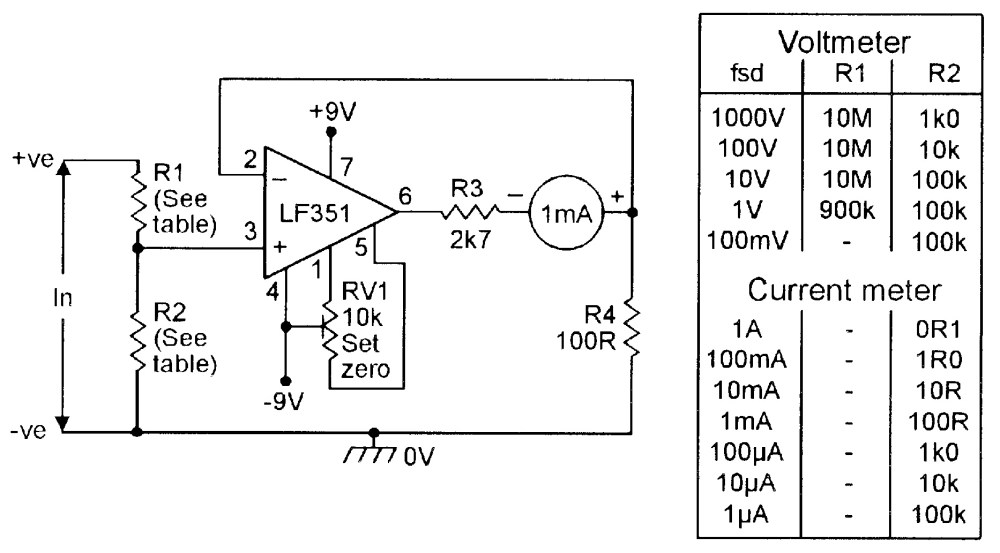 medium resolution of op amp cookbook part 4 nuts volts magazine acpowermonitor measuringandtestcircuit circuit diagram