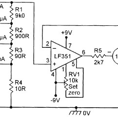 Digital Ac Ammeter Circuit Diagram Volcanic Plug Op Amp Cookbook  Part 4 Nuts And Volts Magazine