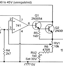 3v to 30v 0 to 1 amp stabilized psu  [ 1764 x 1053 Pixel ]
