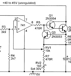 3v to 30v stabilized psu with overload protection  [ 1775 x 1231 Pixel ]