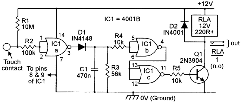 Electrical relay humming