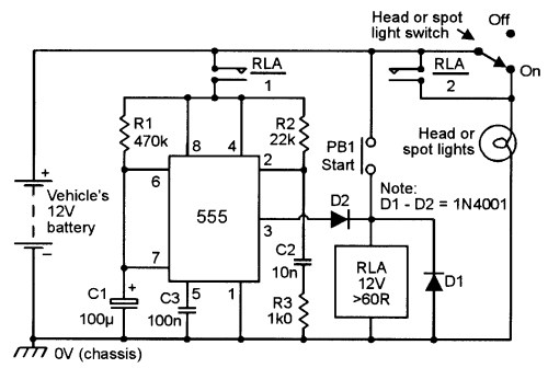 small resolution of  555 monostable circuits nuts volts magazine