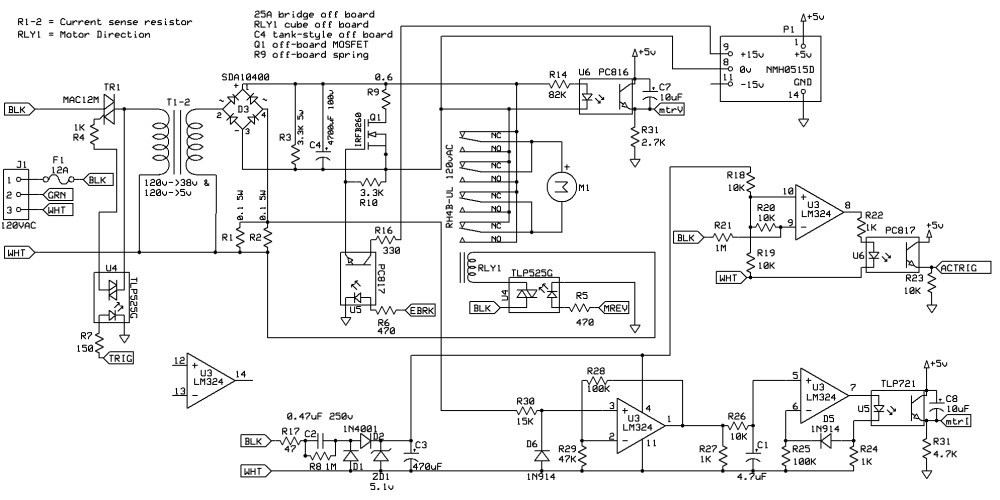 medium resolution of on the schematic in figure 1 the 5v and ground points belong to an isolated 5v 1a cell phone charger not shown is the pic16f747 and associated circuitry