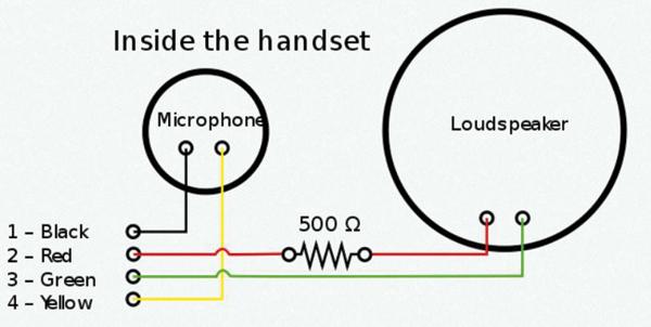 phone line schematic