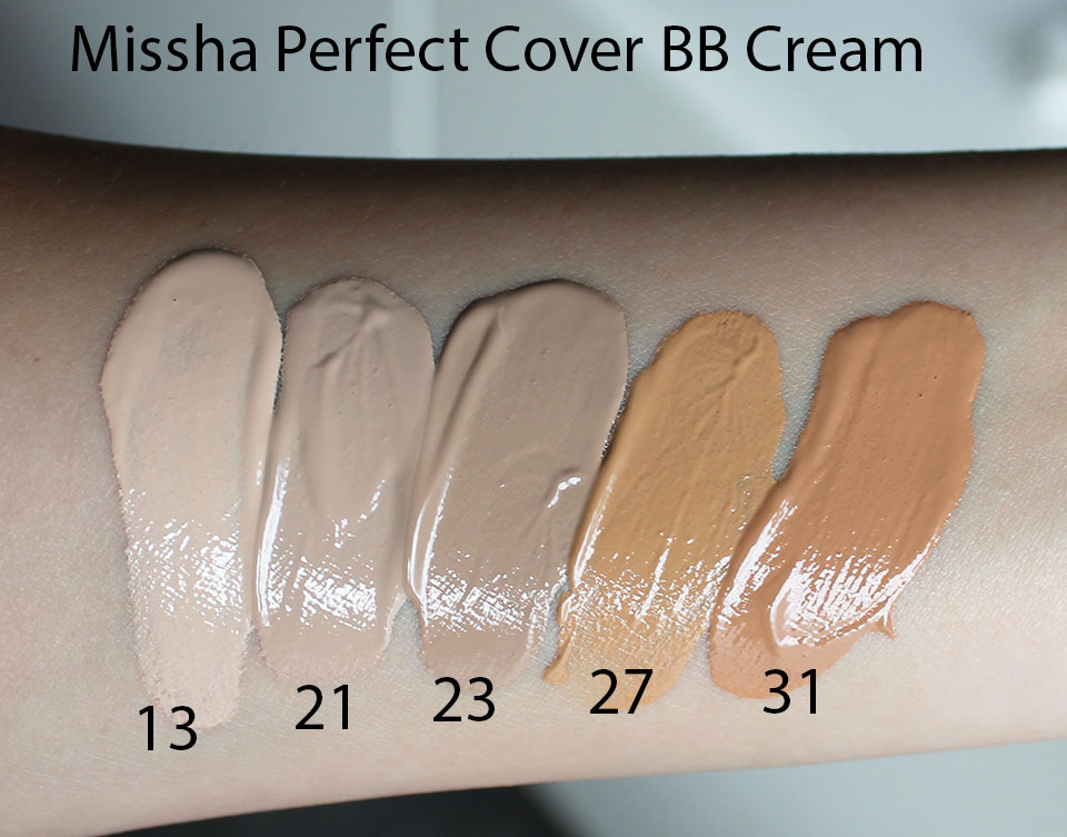 Missha-Perfect-Cover-BB-Cream-Swatches