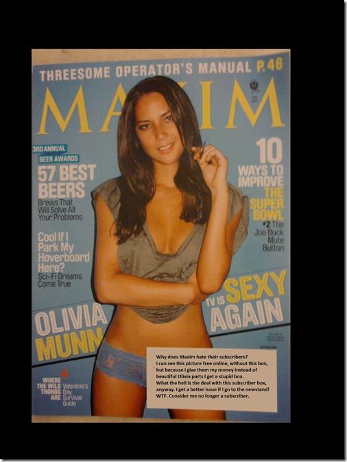 maxim - Olivia Munn