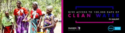 Give Access to 100,000 days of Clean Water in Malawi