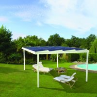 Easy Roof Solar Pergola for mounting of solar panels ...