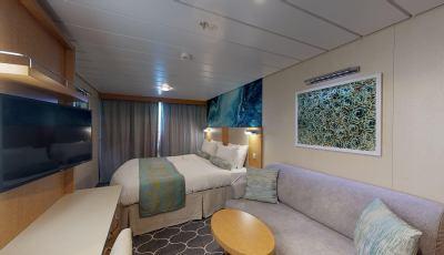 Oasis of the Seas – Ocean View Balcony 3D Model