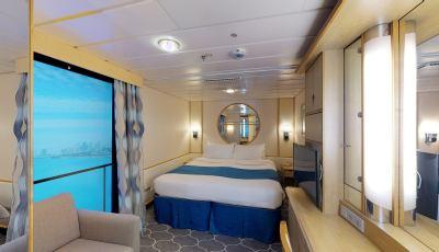 Navigator of the Seas- Interior with Virtual Balcony 3D Model