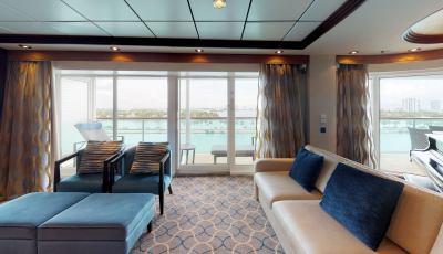 Navigator of the Seas- Royal Suite 3D Model