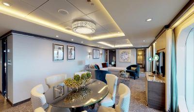 Symphony of the Seas – Villa Suite 4 Bedroom 3D Model