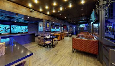 Symphony of the Seas – Playmaker's Bar & Grill 3D Model