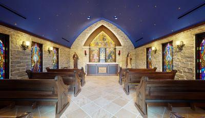 Holy Angels Chapel 3D Model