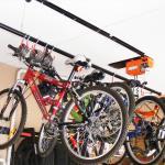 Ceiling Mounted Bike Racks For Garage Off 64 Www Abrafiltros Org Br