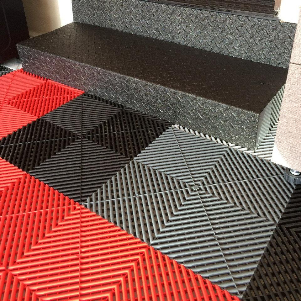 Ribtrax Garage Floor Tiles Nuvo Garage
