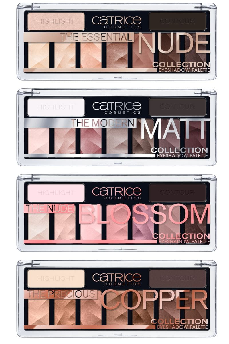 CATRICE THE COLLECTION PALETTE OMBRETTI OCCHI