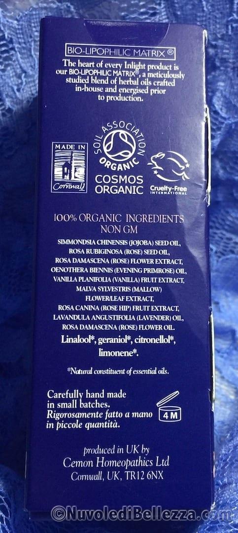 Inci Inlight Cemon Organic Daily Face