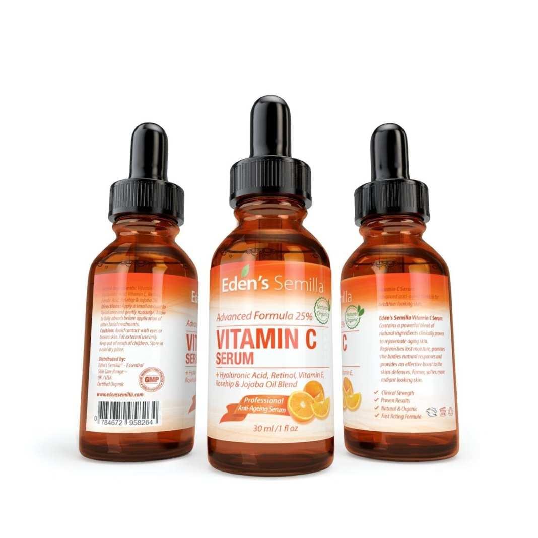 Siero Vitamina C 25% Eden's Semilla