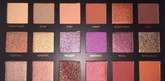Huda Beauty Palette Desert Dusk