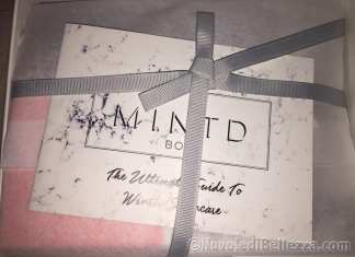 Mindt Box Unboxing November 2017