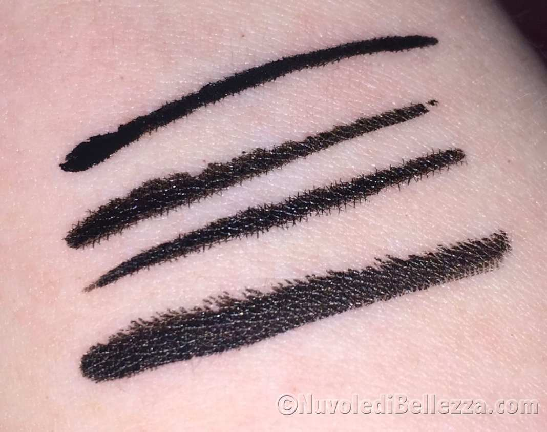 Swatches Eyeliner Pupa
