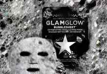 Glamglow Maschera all'Ossigeno Bubblesheet Oxygenating Deep Cleanse Mask