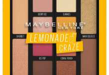Maybelline Palette Lemonade Crazy