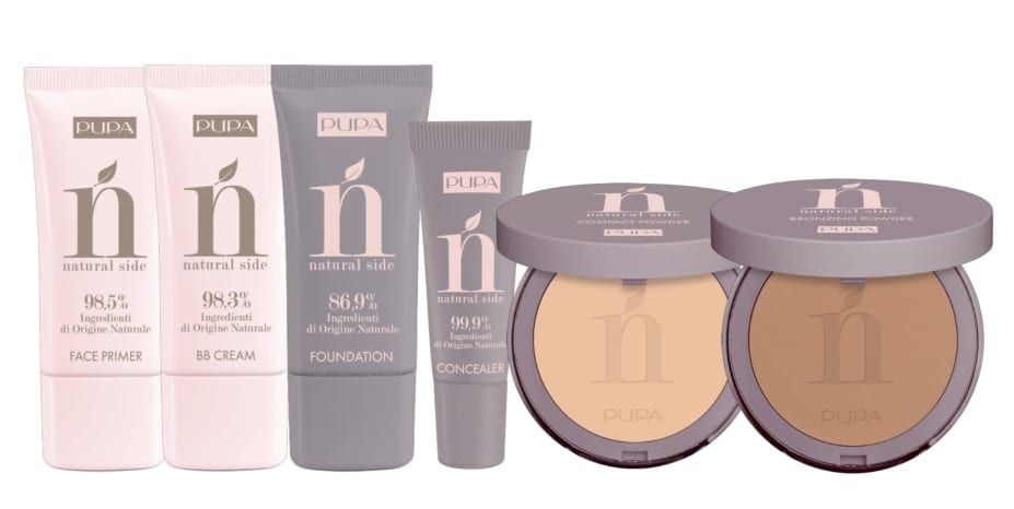 Pupa Natural Side Collezione Make Up Ecologico