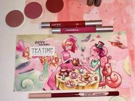 Neve Cosmetics Tea Time Swatches e Recensione