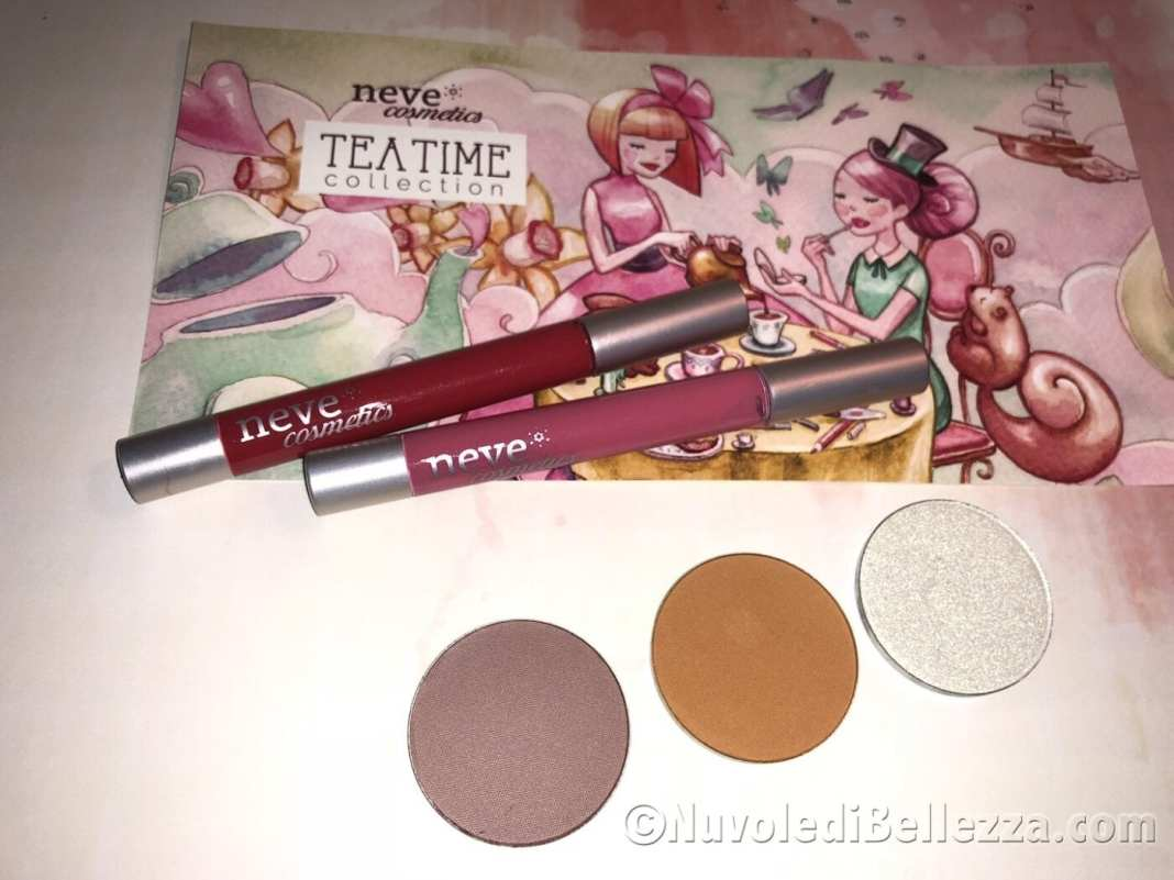 Tea Time Collection Neve Cosmetics