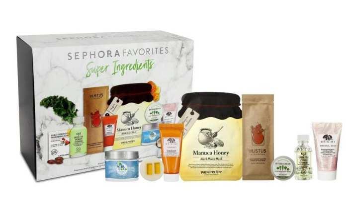 Sephora Super Ingredients Box
