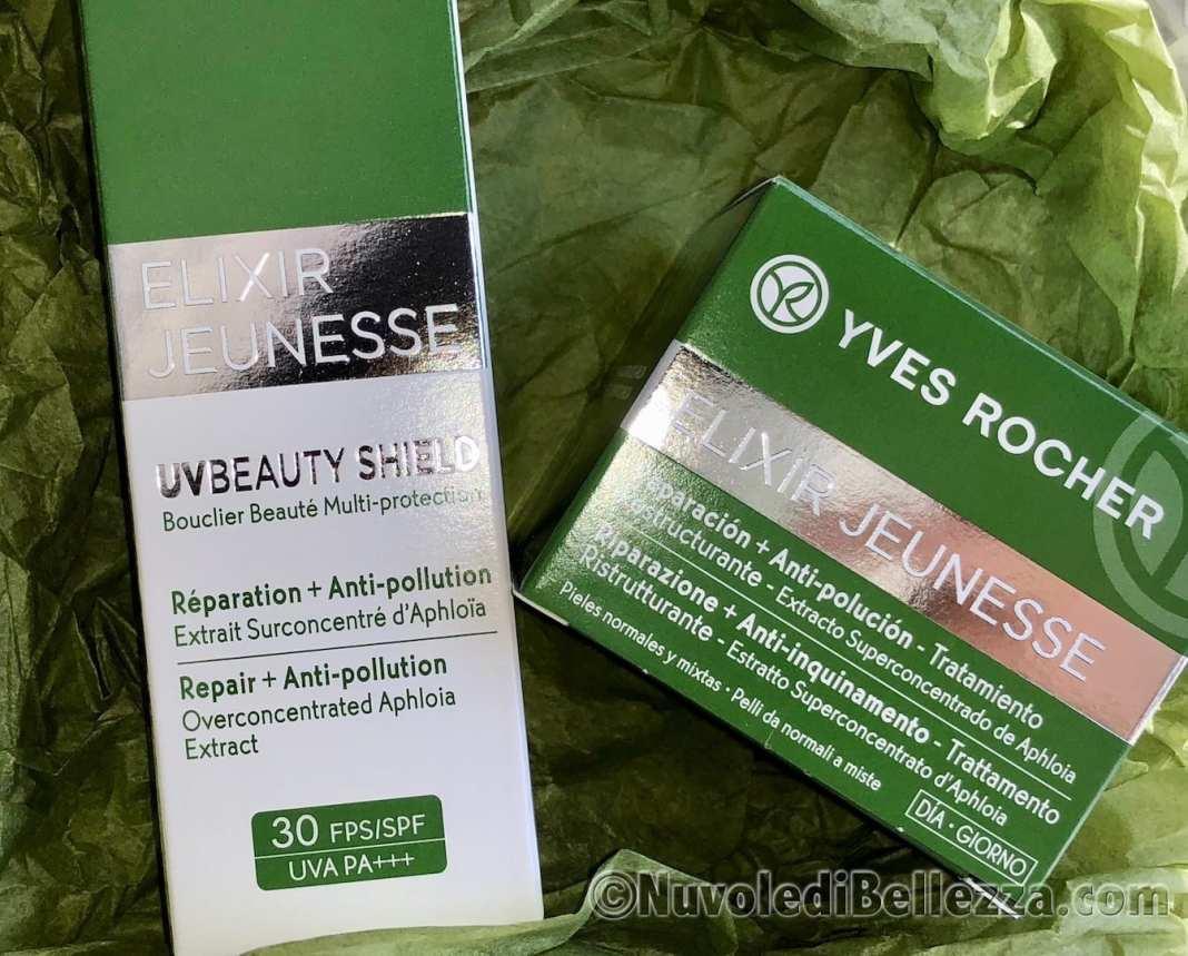 Yves Rocher UV Beauty Shield Filtro Solare ed Anti-Inquinamento